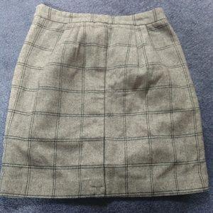 Forever 21 plaid min skirt